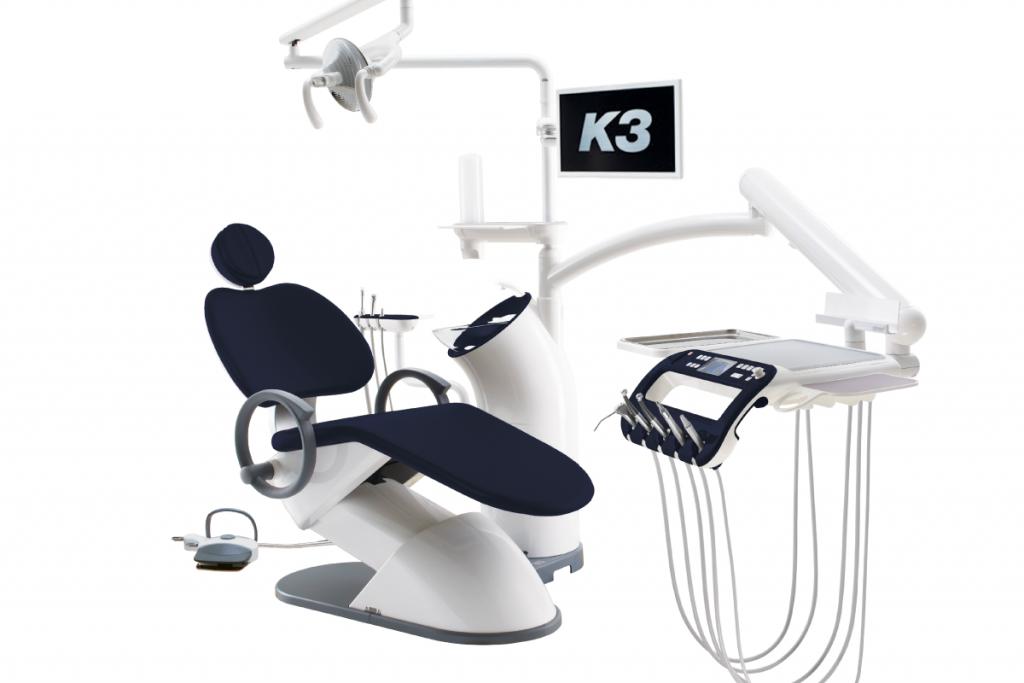 Стоматологическая установка K3 темно синий