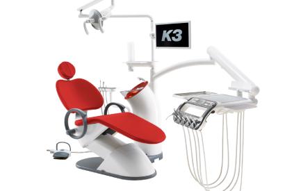Стоматологическая установка K3 красный