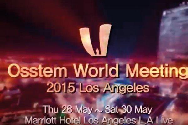 Osstem World Meeting 2015 Los Angeles
